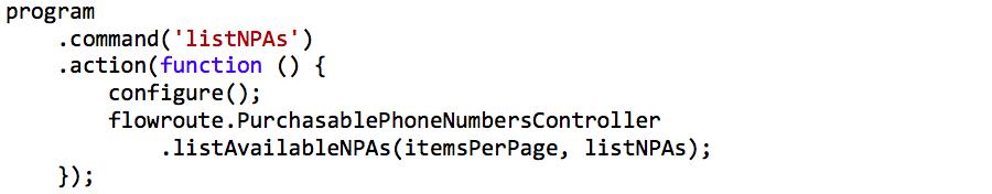 Call to API